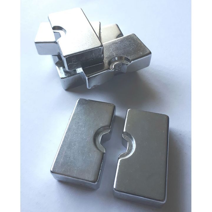 Матрица (пара) под ключ гидравлический для обжима алмазного троса